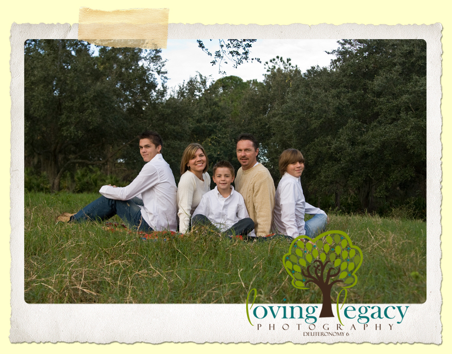 largo florida family portraits